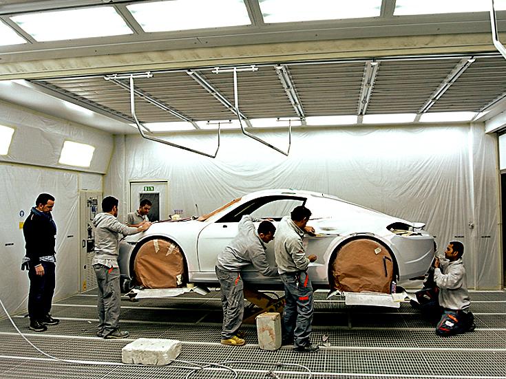 stuccatura auto Porsche Stola Moncenisio