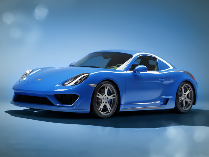 Porsche Moncenisio verniciata da Gr Painting