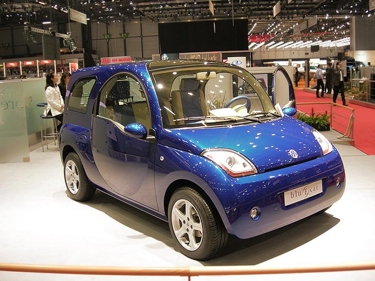 Pininfarina Blu E car