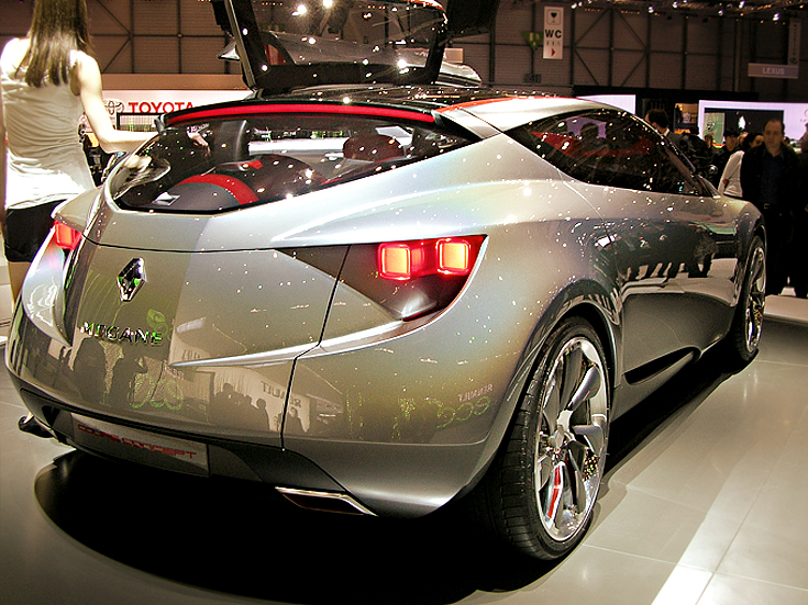 Renalut Megane Coupe Concept