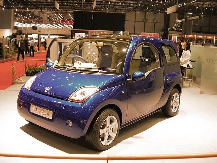 Volkswagen Blu e-car 3