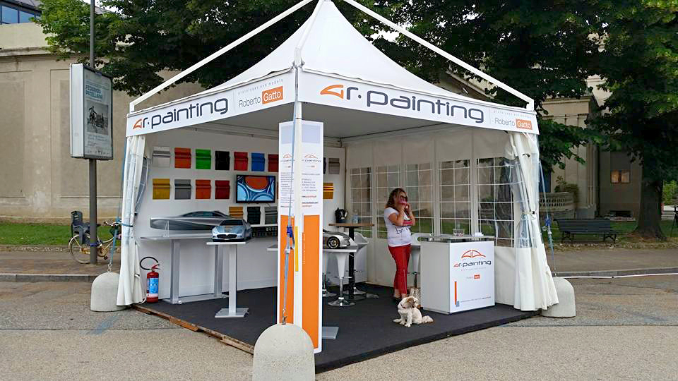 Parco Valentino, stand Gr Painting