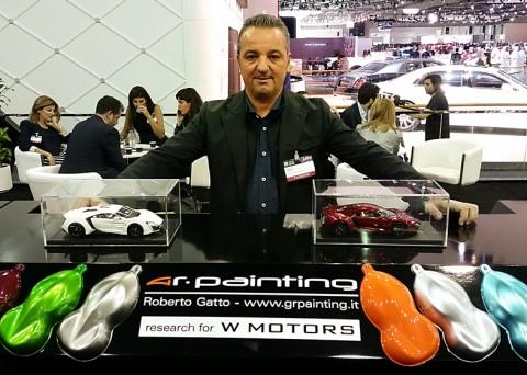 Roberto Gatto al salone di Dubai